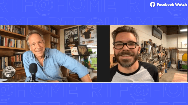 Mike Rowe's Facebook Show – Returning the Favor – Highlights T.A.C.T