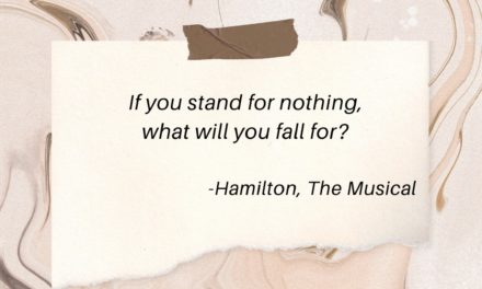 What do you stand for? Get clear on your values. Everything else will follow.